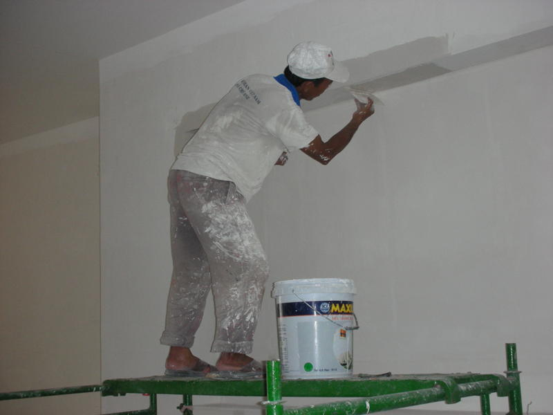 Dịch vụ sơn nhà Hà Nội, công ty sơn sửa nhà, sơn lại nhà